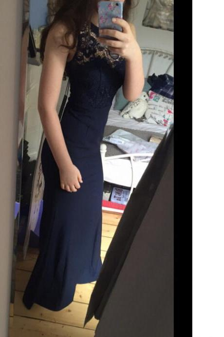 Prom Dress,Sexy Navy Prom Dress Cocktail Party Dresses,Cheap Prom Dress,Formal Dress, Sexy Gril Dress, Floor-Length Prom Dresses, Evening Dresses, Custom Dress