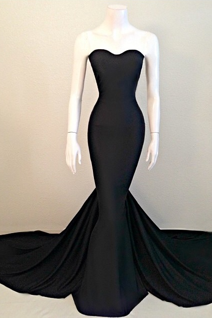 Sexy Prom Dresses,Prom Dress,Black Evening Gown,Long Formal Dress,Black Prom Gowns,Night Club Dresses,,Black Prom Dress