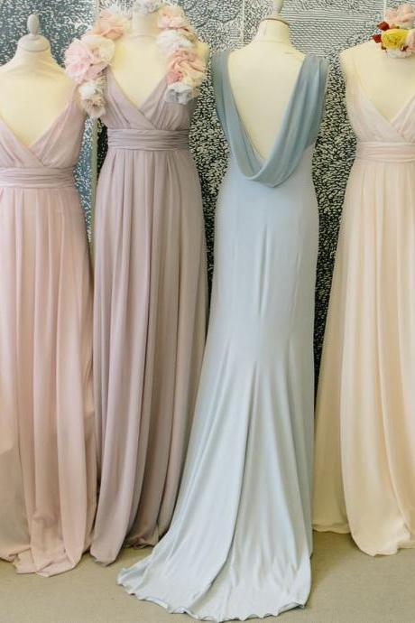 Chiffon Bridesmaids Dress, Bridesmaids Dresses,New Arrival Formal Dresses Party Gowns