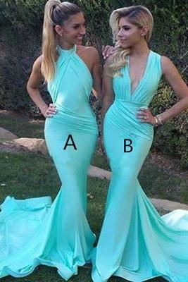 Mermaid Prom Dress,Sexy Evening Dresses,Formal Evening Gown