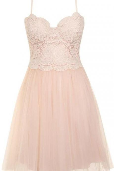 New Arrival Simple Party Dress,Prom Dress,Cute Prom Dress,Sexy Short Prom Gown,Lace Mini Party Dress