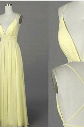 Charming Prom Dress,Chiffon Prom Dress,Spaghetti Straps Prom Dress,A-Line Evening Dress,prom dresses