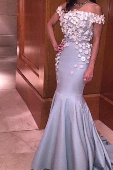 boat neck prom dress champagne evening dress mermaid prom dress women pageant gown ,applqiues lace prom dress