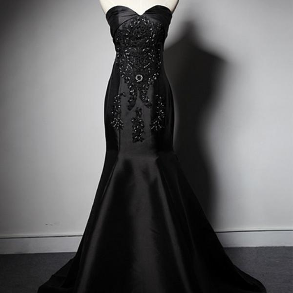 Black mermaid prom dresses,prom dresses,royal blue prom dresses,Sweetheart Prom Dresses,satin prom dresses,sexy prom dresses,Dresses For Prom , sexy prom dresses,dresses party evening,sexy evening gowns,formal dresses evening,elegant long evening dresses